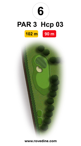 Percorso Executive Golf Club Le Rovedine Milano