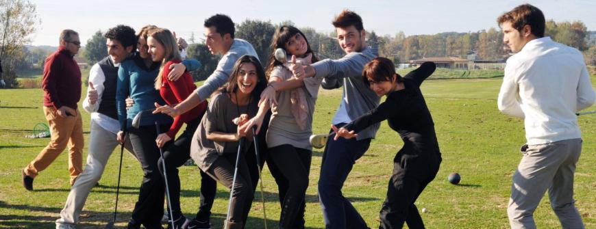 Iniziare a giocare a golf, Le Rovedine