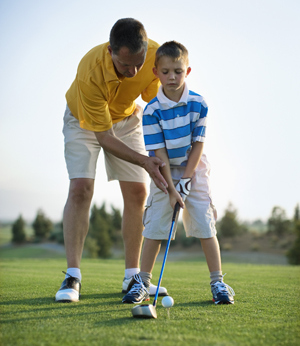Junior summer camp, golf Le Rovedine