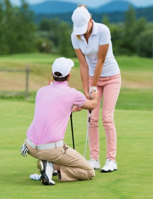 lezione di golf - Golf Rovedine Milano